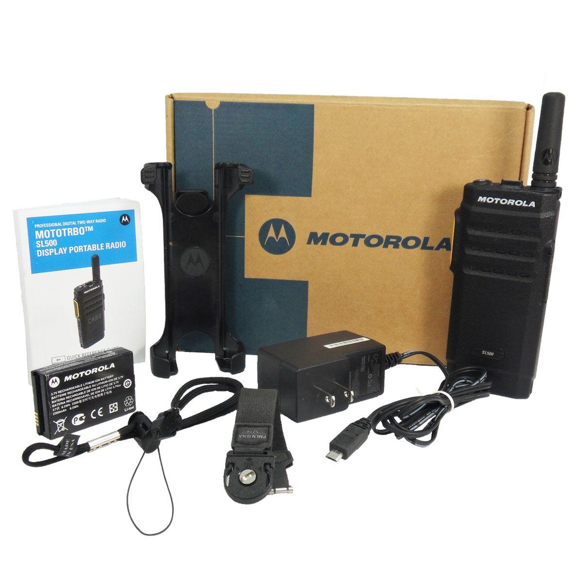 Radio Motorola SL500 Digital LAH88QCP9JA2AN UHF 403-480 MHz