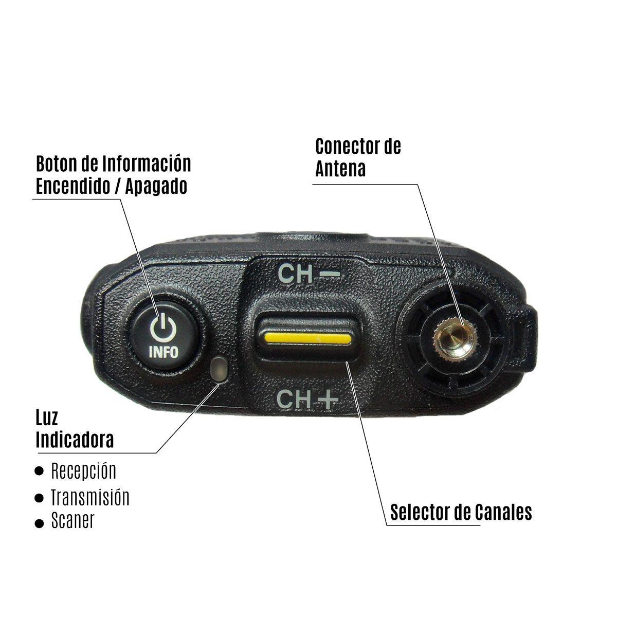 Radio Motorola SL500e Digital LAH88YDC9SA2AN UHF 403-480 MHz