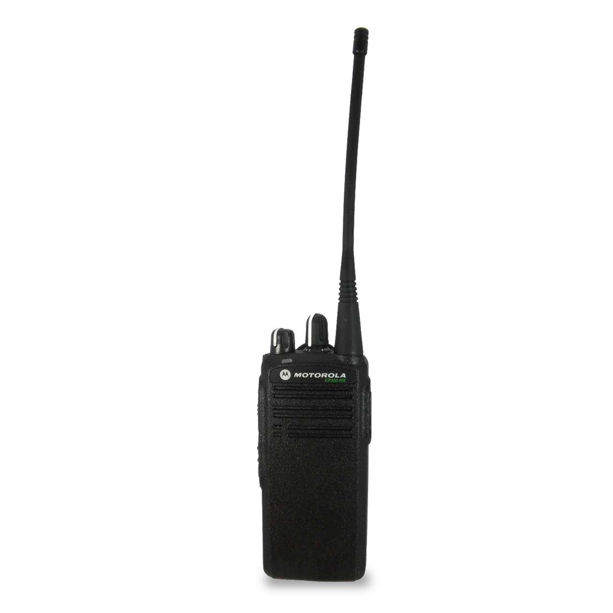 Radio Motorola EP350 MX Analógico LAH03RDC8AB7AN UHF 435-480 MHz sin pantalla y sin teclado