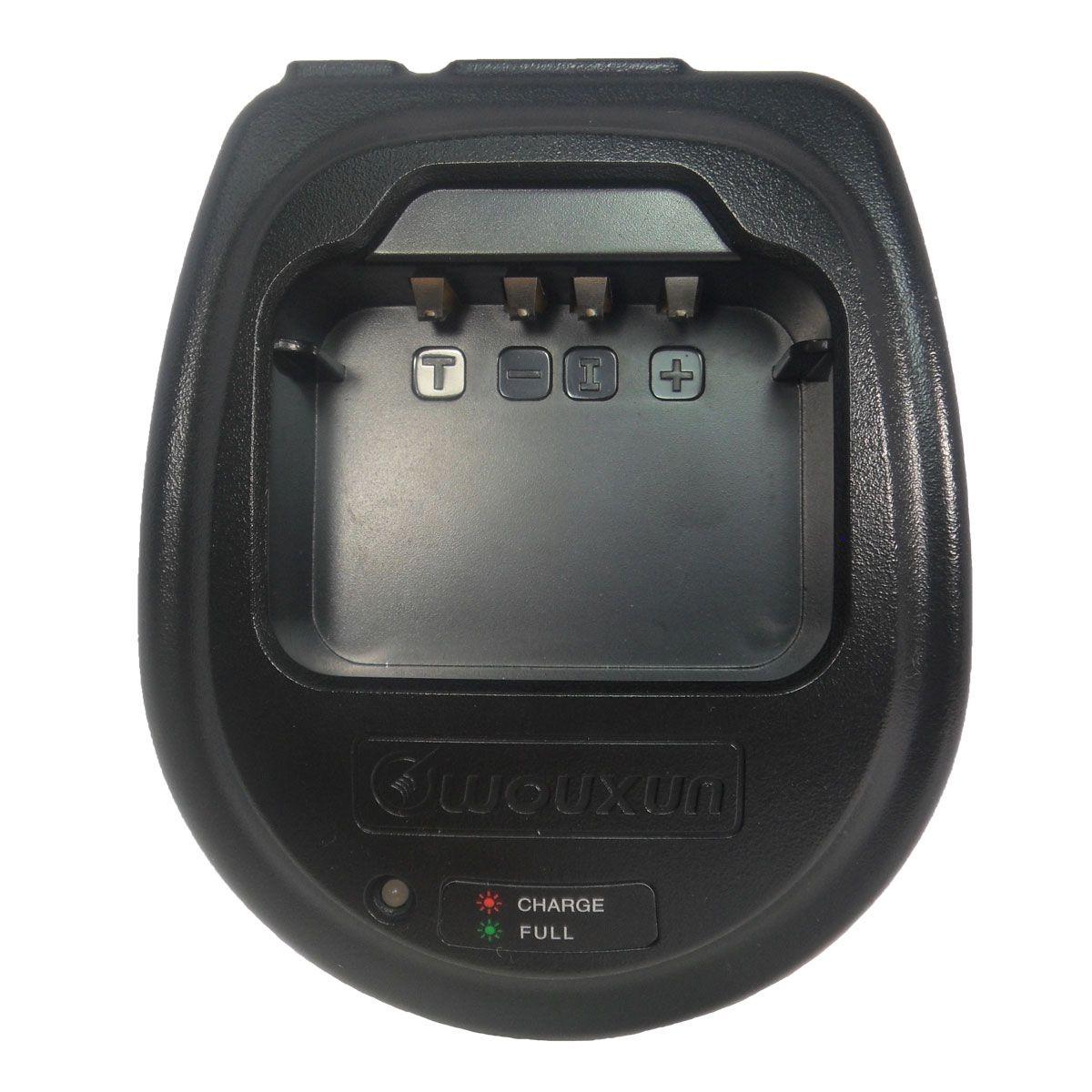 Cargador individual Wouxun de carga rápida CH-006