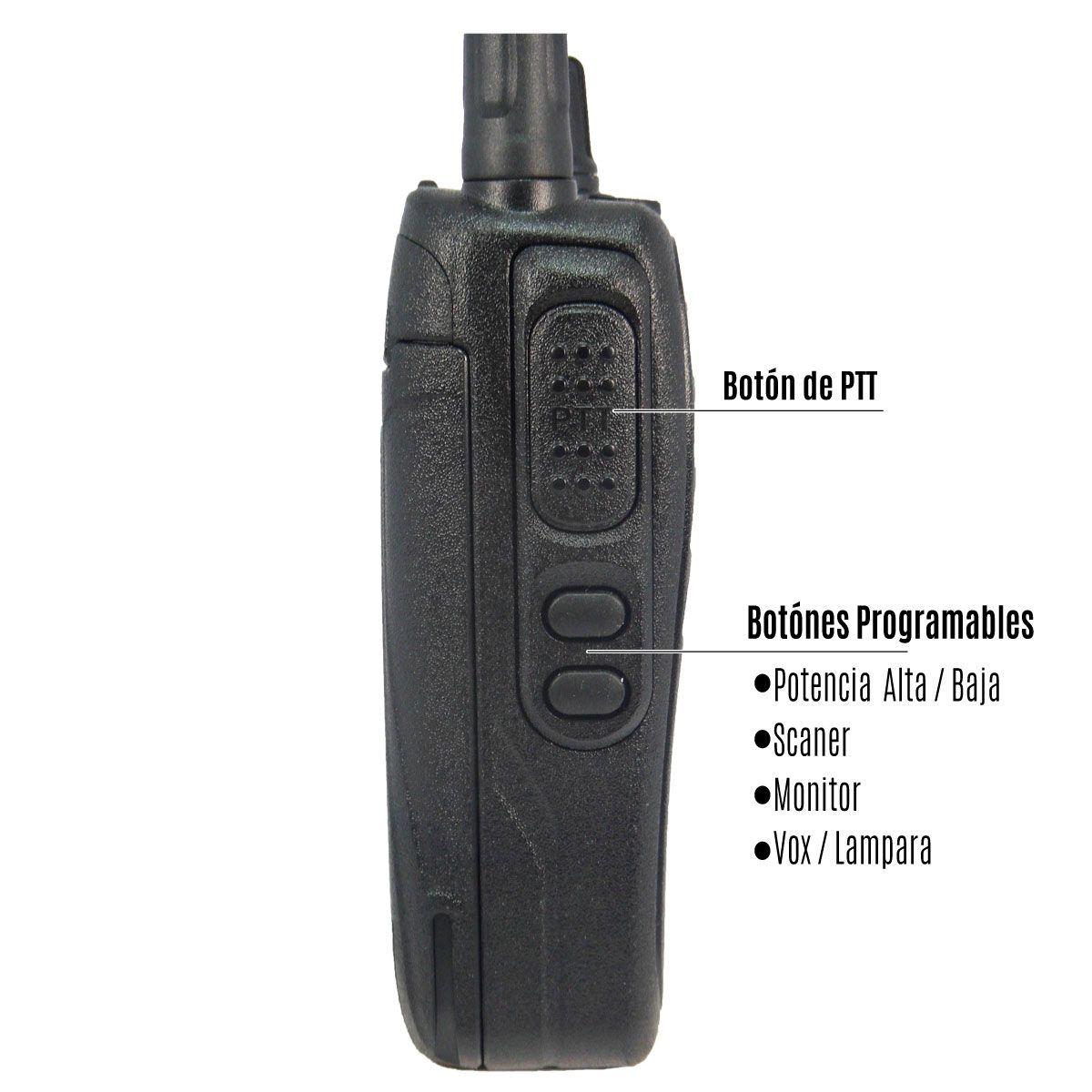 Radio Evote ET-668 Analógico UHF 430-520 MHz