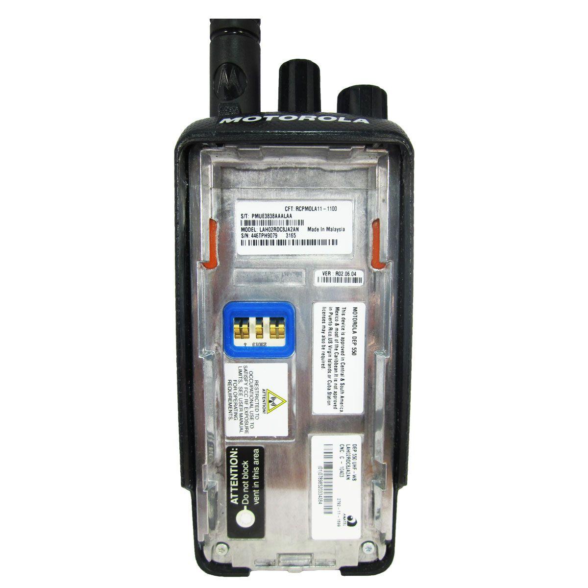 Radio Motorola DEP550 Digital