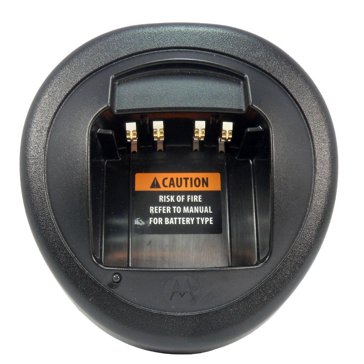Cargador individual Motorola de carga rápida NNTN8117