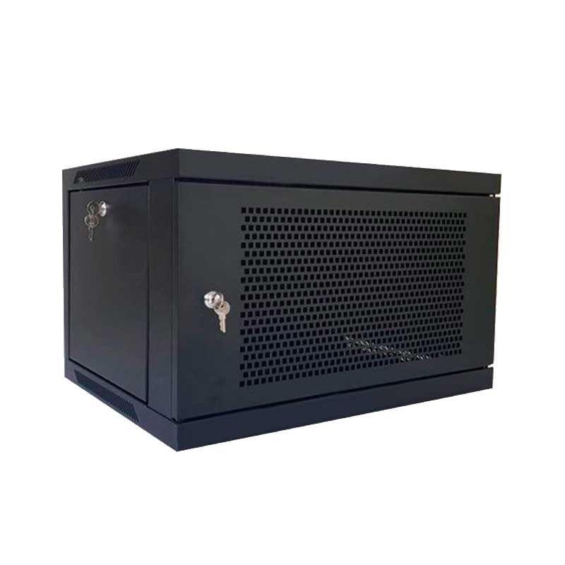 Rack gabinete de pared cerrado Wireplus de 6 U