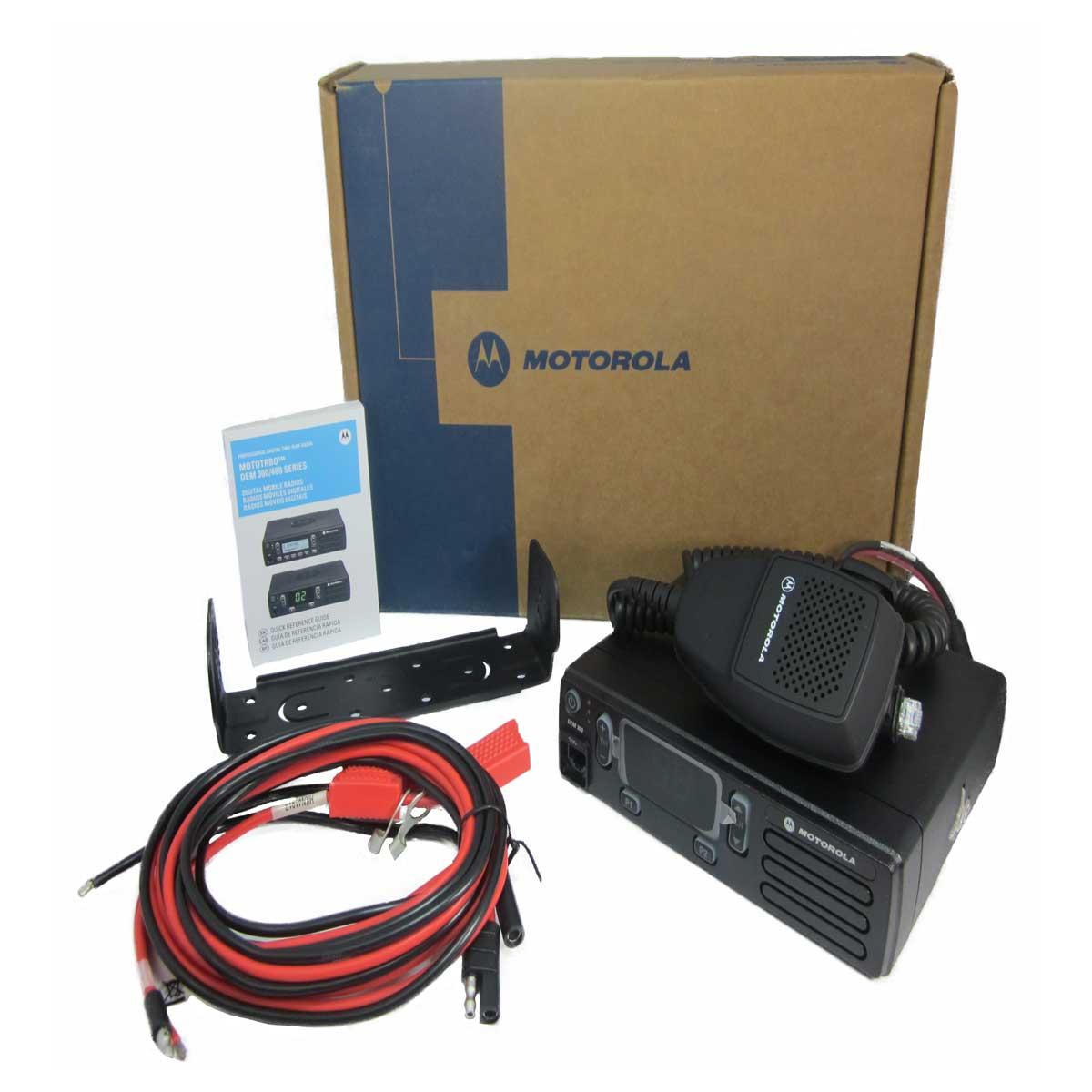 Radio Motorola DEM300 Digital LAM01JNC9JA1AN VHF 136-174 MHZ de 25W