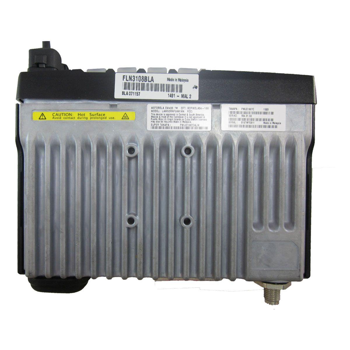 Radio Motorola EM400 Analógico LAM50TPF9AA1AN UHF 490-527 MHZ