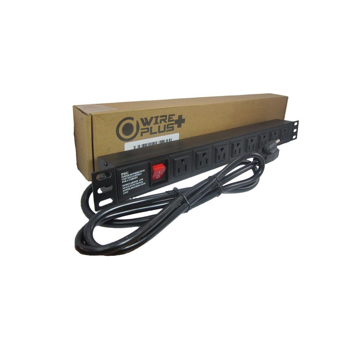 Regleta PDU Wireplus 8 Tomas rackqueable 1 U