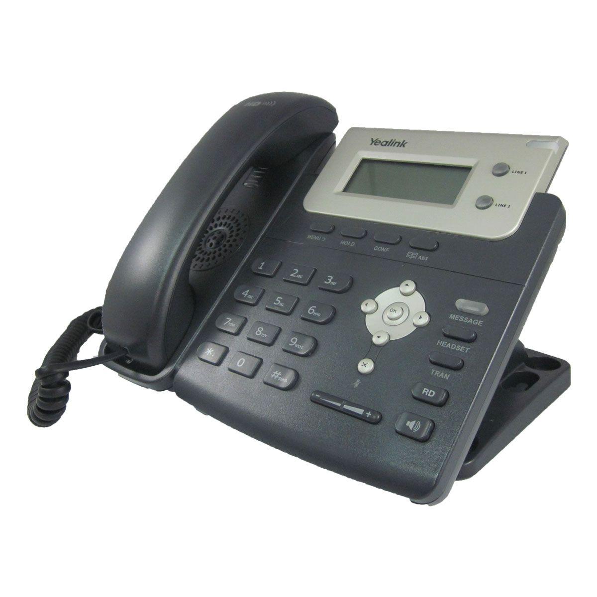 Teléfono alámbrico IP Yealink T20P