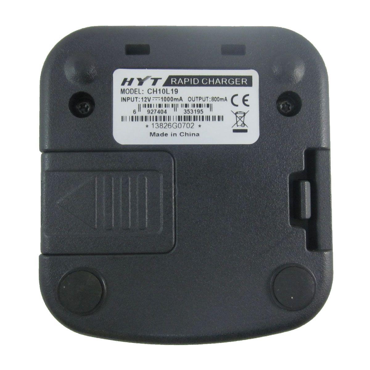Cargador individual HYT CH10L19 para radio TC-518