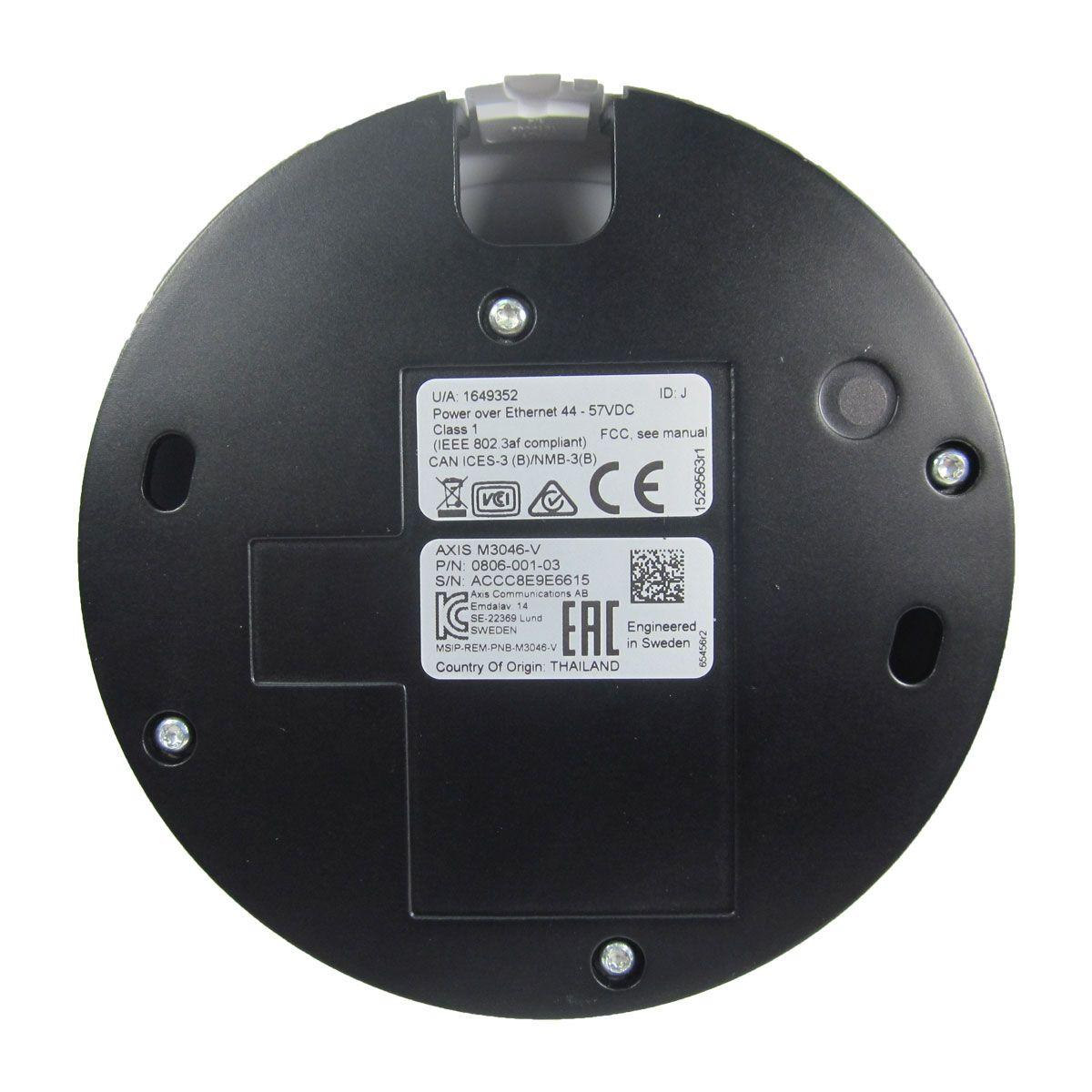 Cámara IP Axis Tipo Domo M3046-V