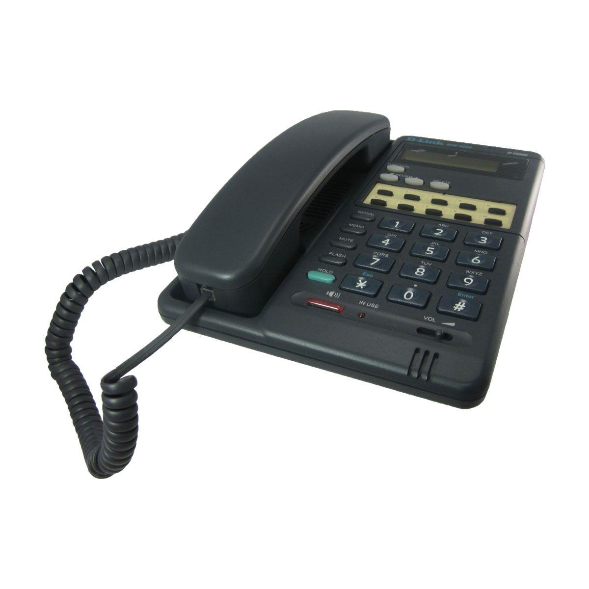 Teléfono alámbrico IP D-Link DPH-100H