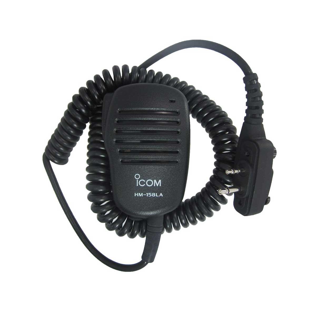 Micrófono Icom parlante de solapa HM-158LA