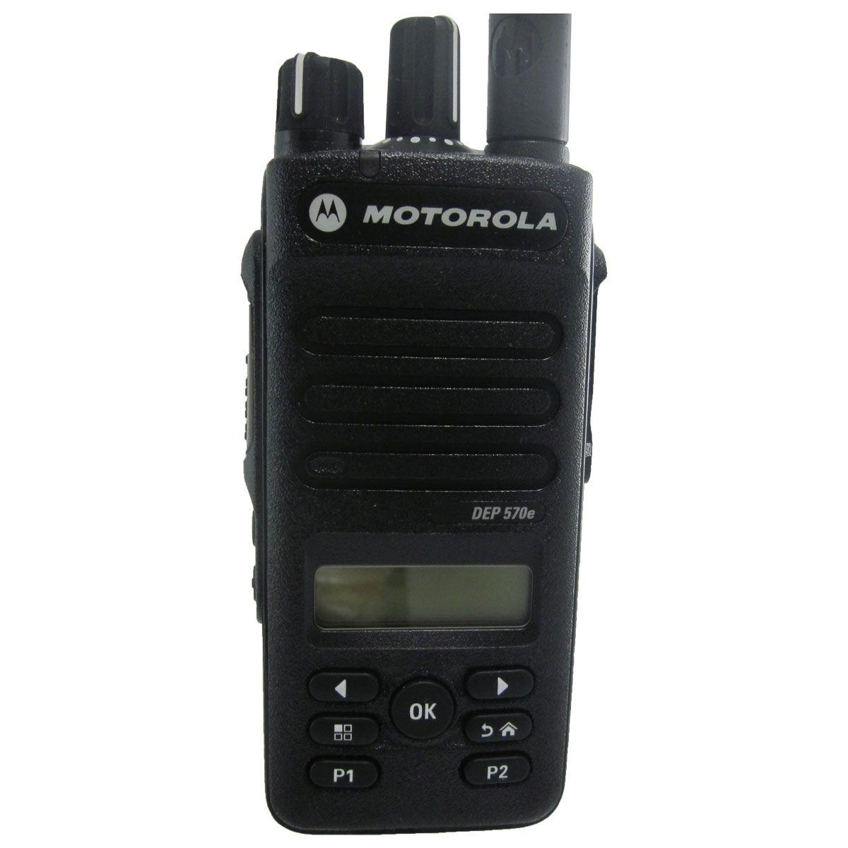 Radio Motorola DEP570e Digital LAH02RDH9UA1AN UHF 403-527 MHz