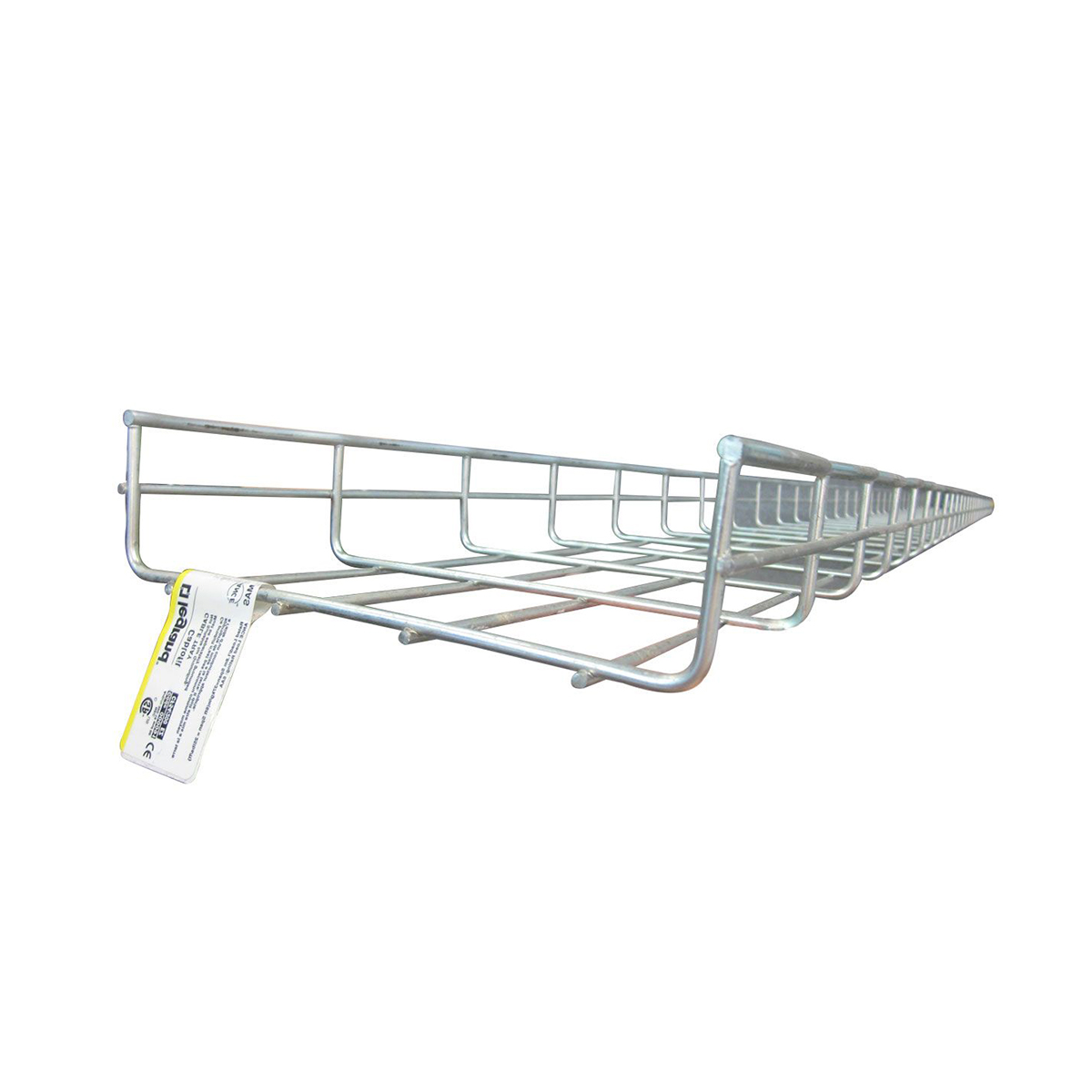 Bandeja porta cable tipo escalerilla galvanizada 0.20 m x 3 m BTE003