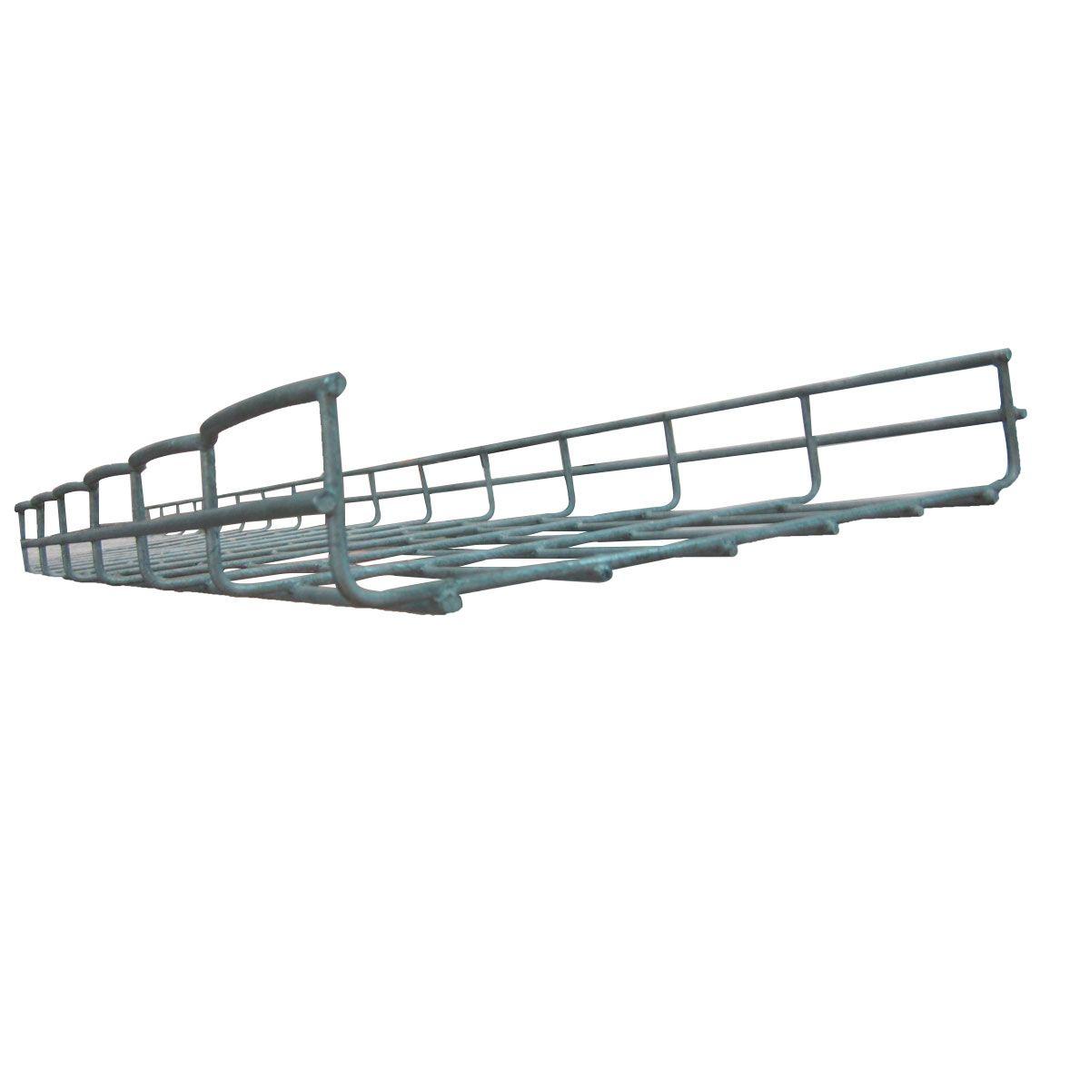 Bandeja porta cable tipo escalerilla galvanizada 0.30 m x 3 m