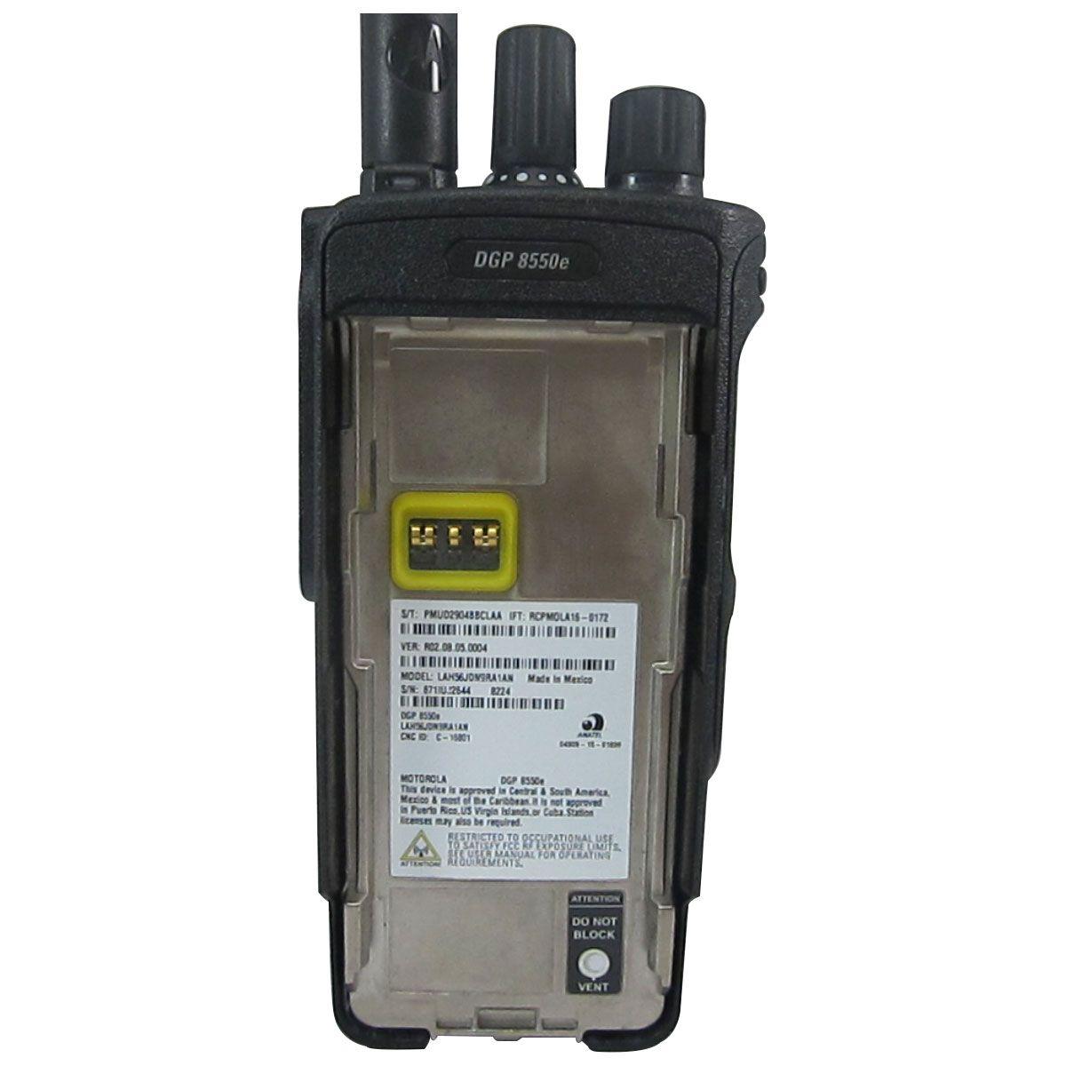 Radio Motorola DGP8550e Digital LAH56RDN9RA1AN UHF 403-527 MHz