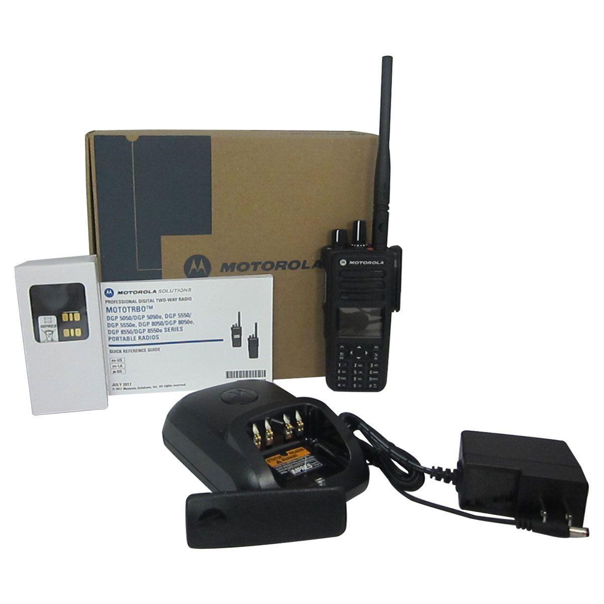 Radio Motorola DGP5550e Digital LAH56JDN9SA1AN VHF 136-174 MHz