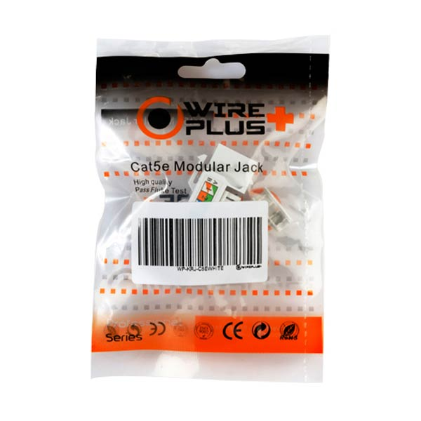 Coupler RJ45 Cat6 Blanco Wireplus