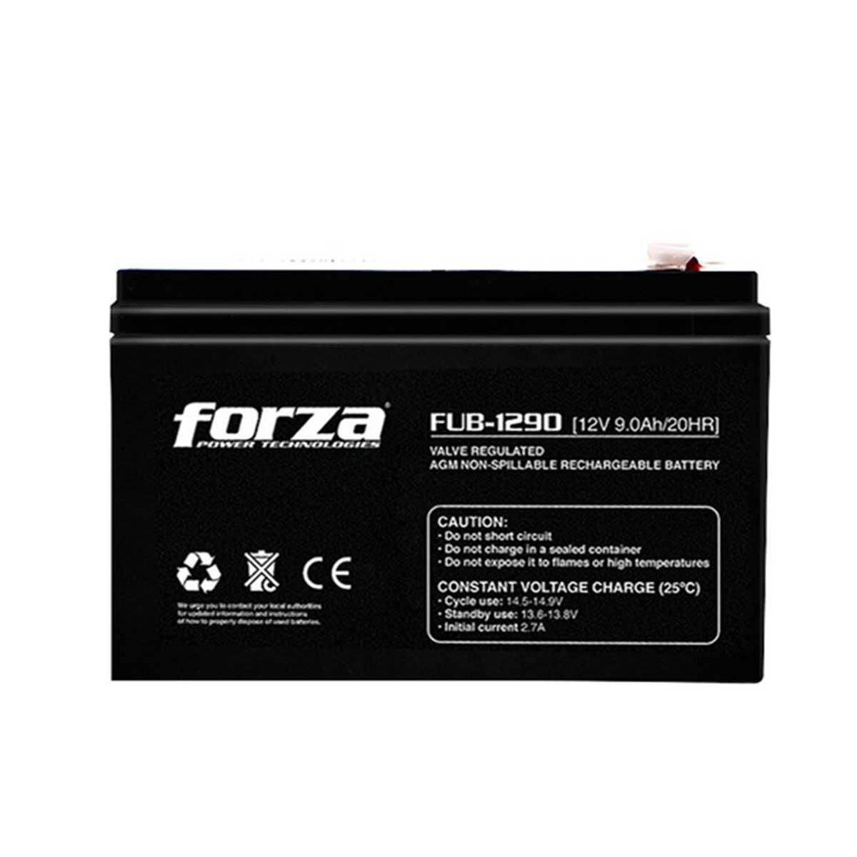 Batería Forza FUB-1290 12V 9AH