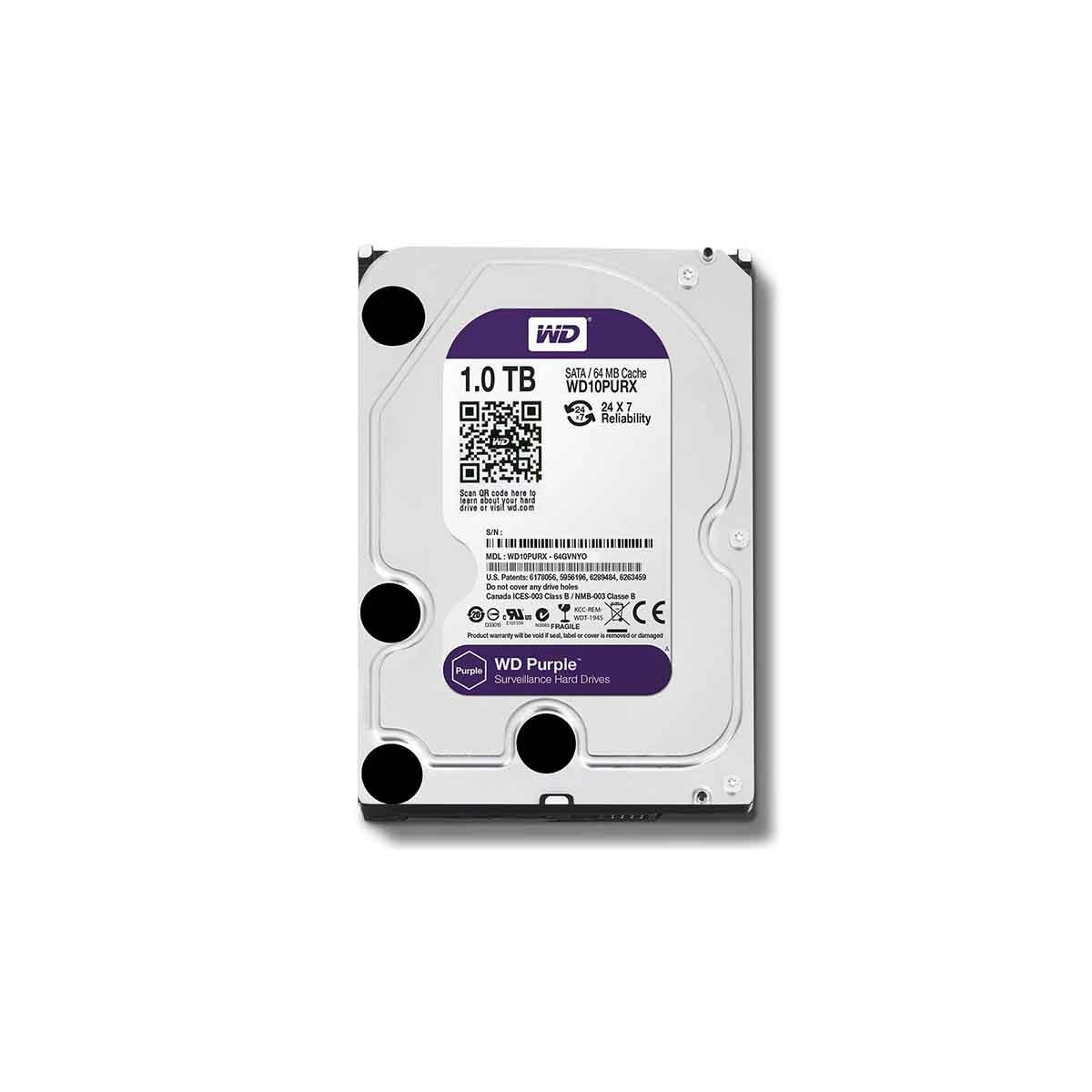 Disco Duro 3TB Western Digital WD30PURX especial para vídeo vigilancia