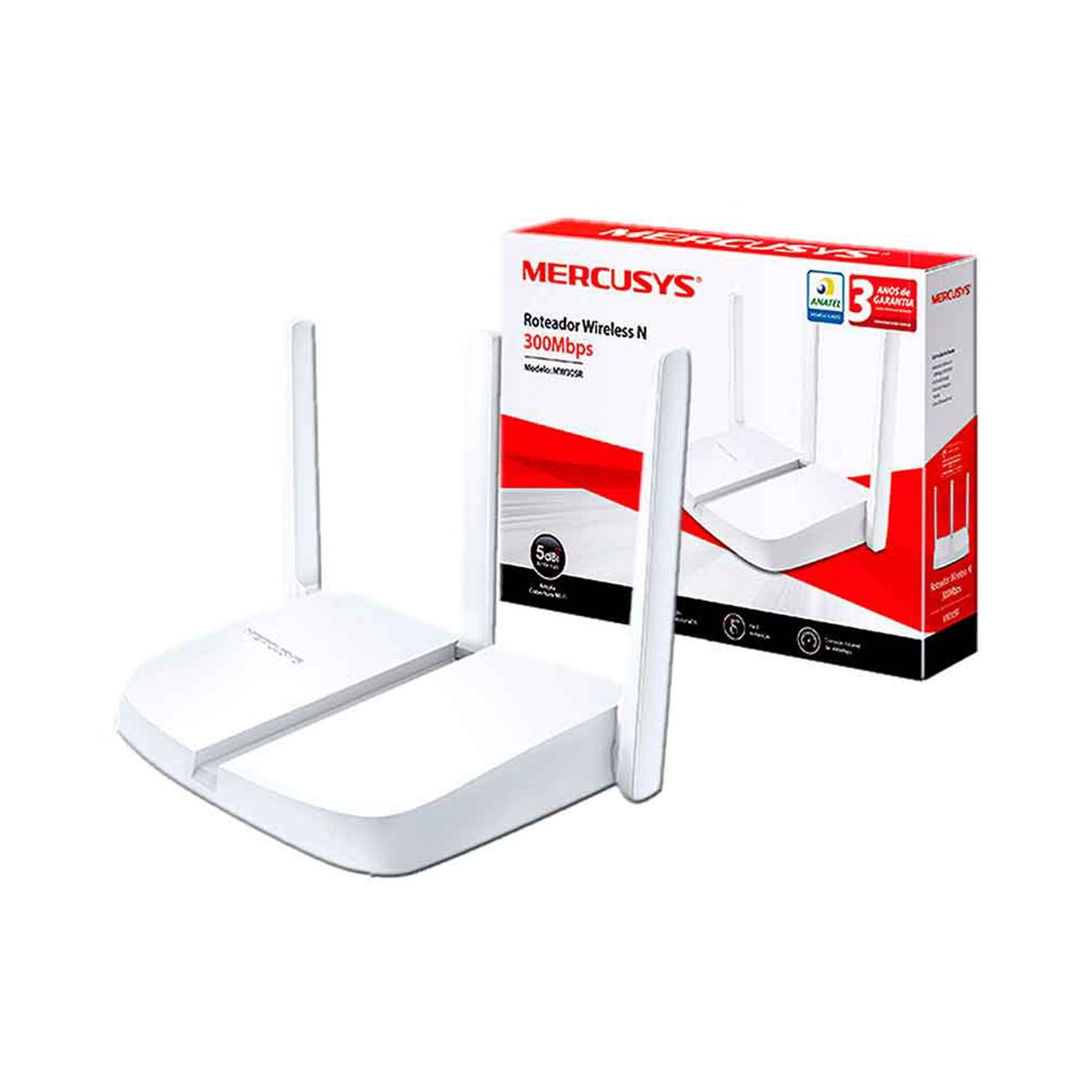 Router Mercusys MW305R Inalámbrico