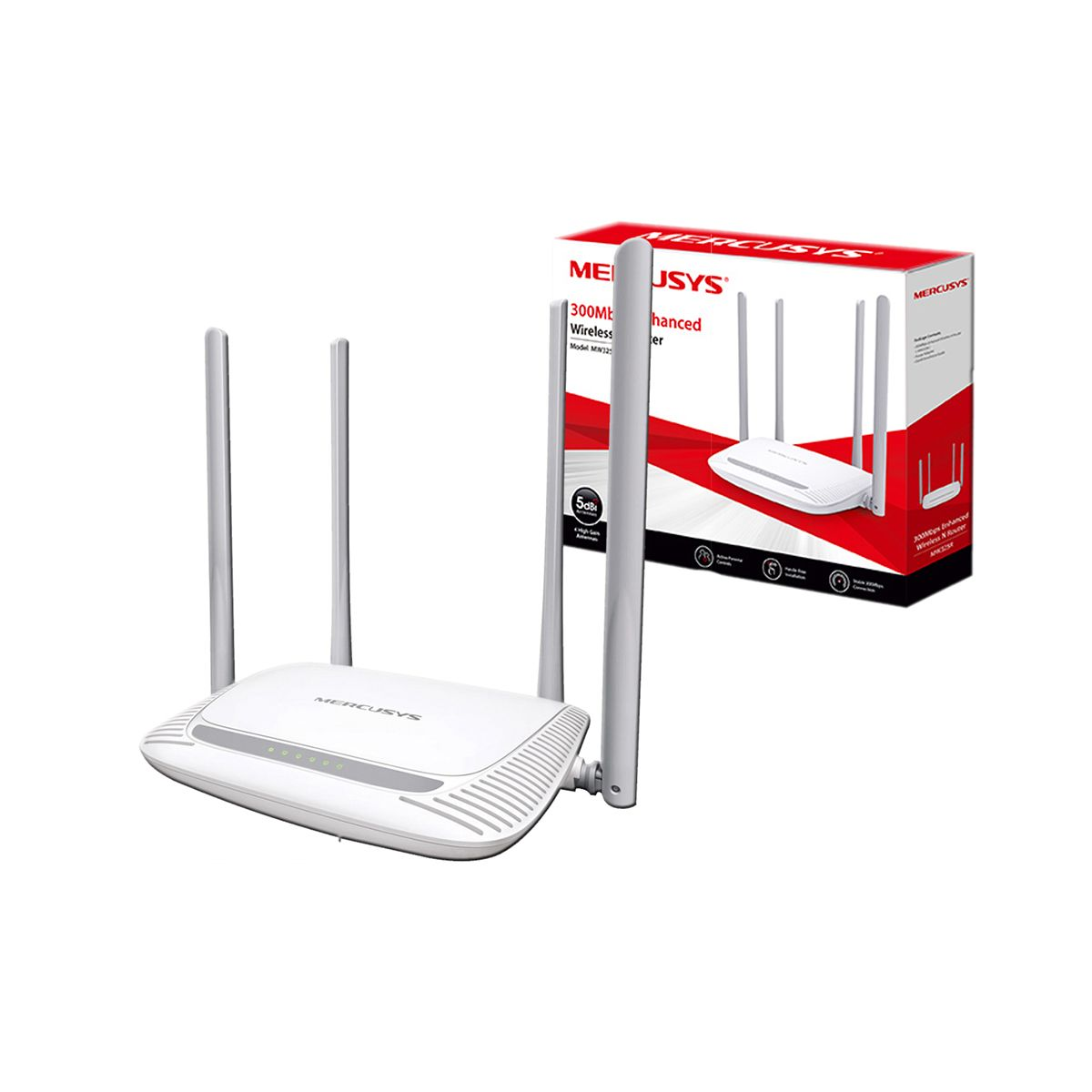 Router Mercusys MW325R Inalámbrico