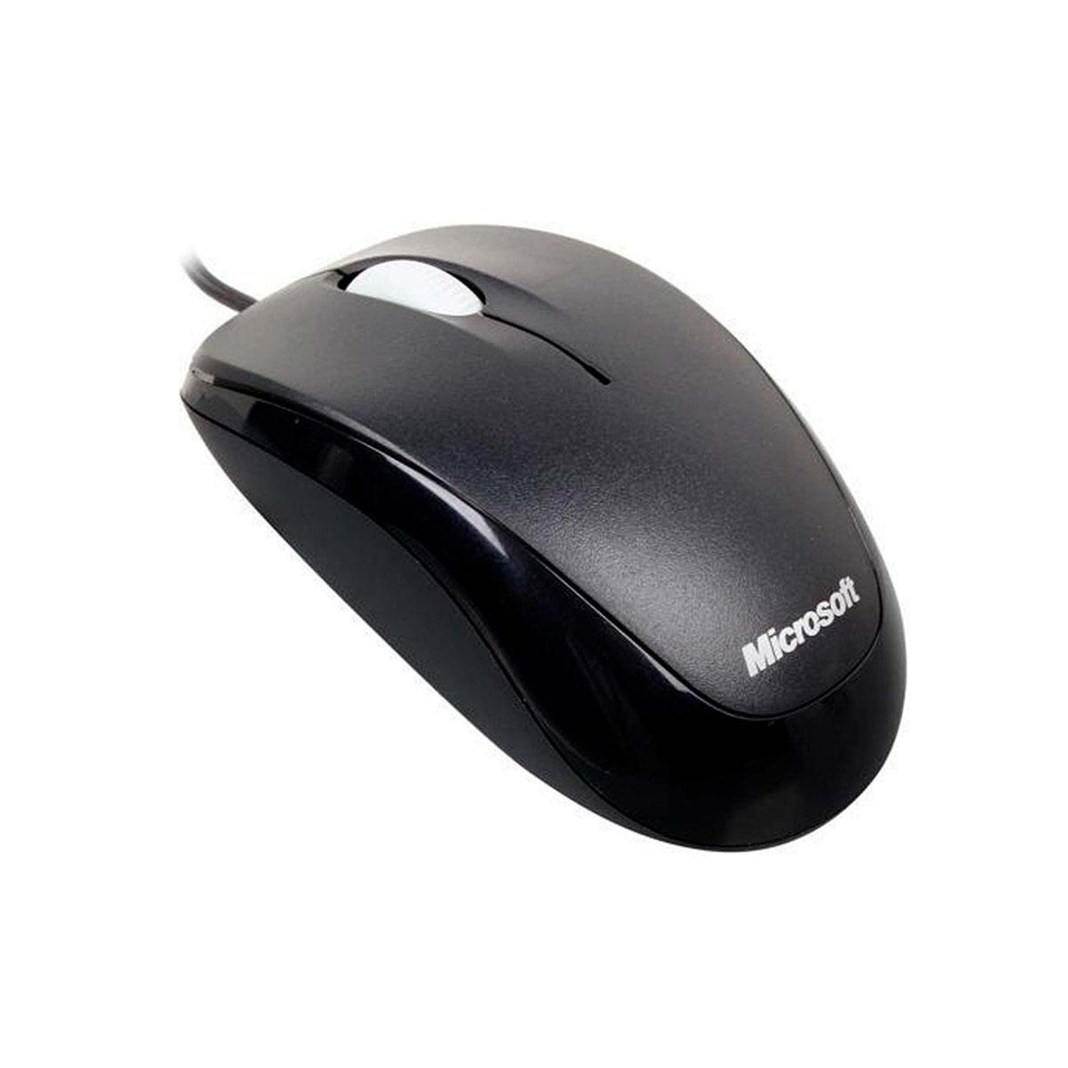 Mouse Microsoft Alámbrico Compact 500 U81-00010