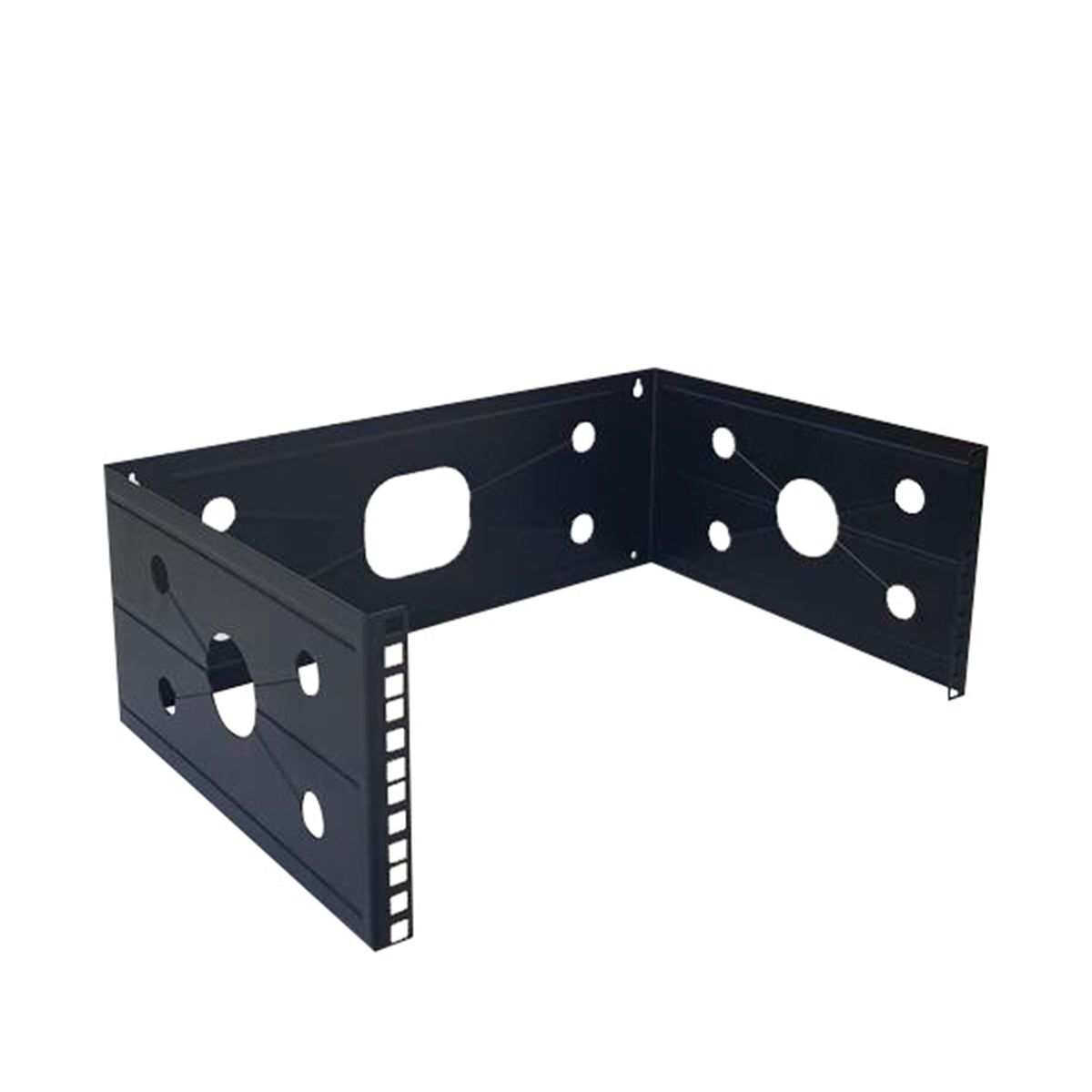 Rack de pared abierto Wireplus de 6 U