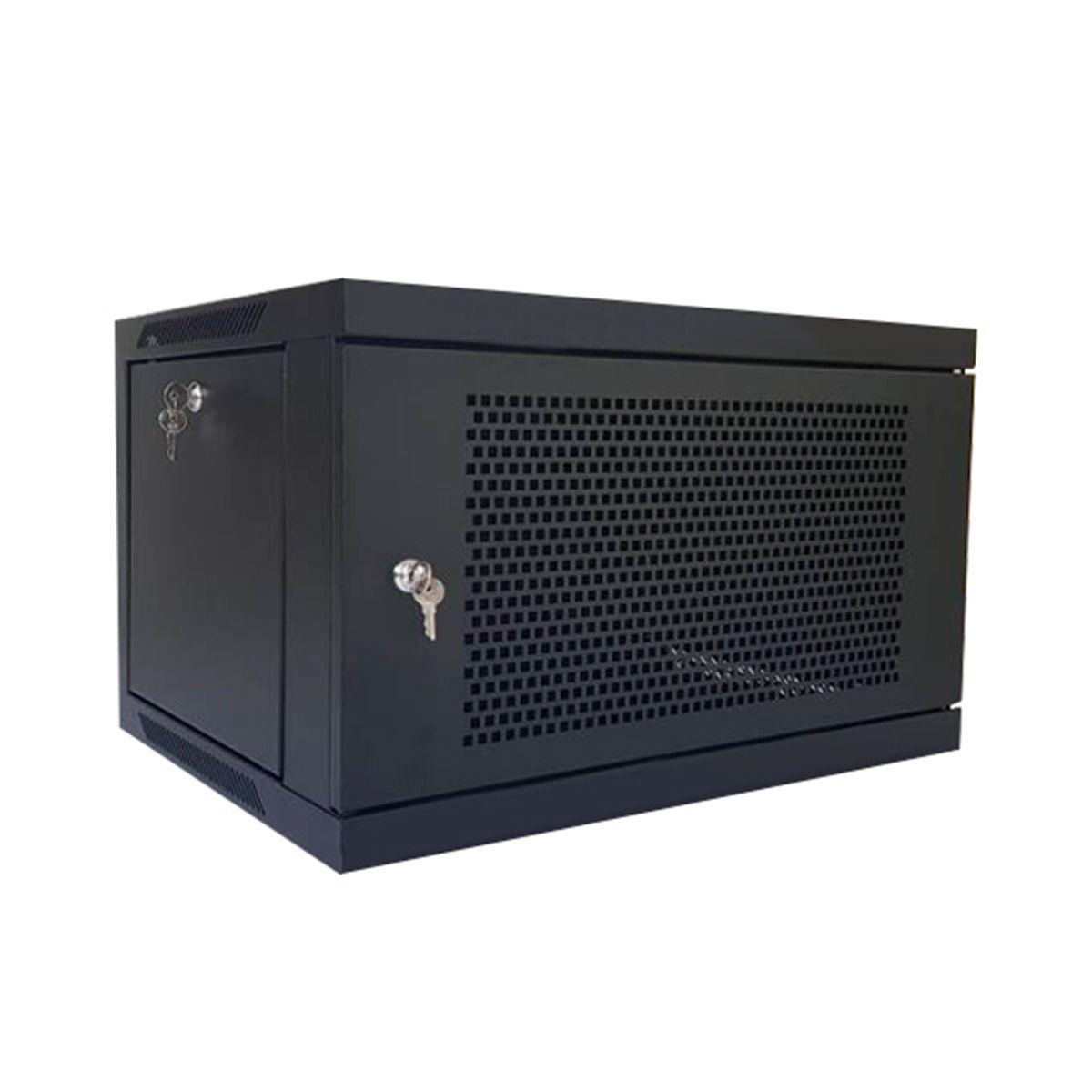 Rack gabinete de pared cerrado Wireplus de 9 U