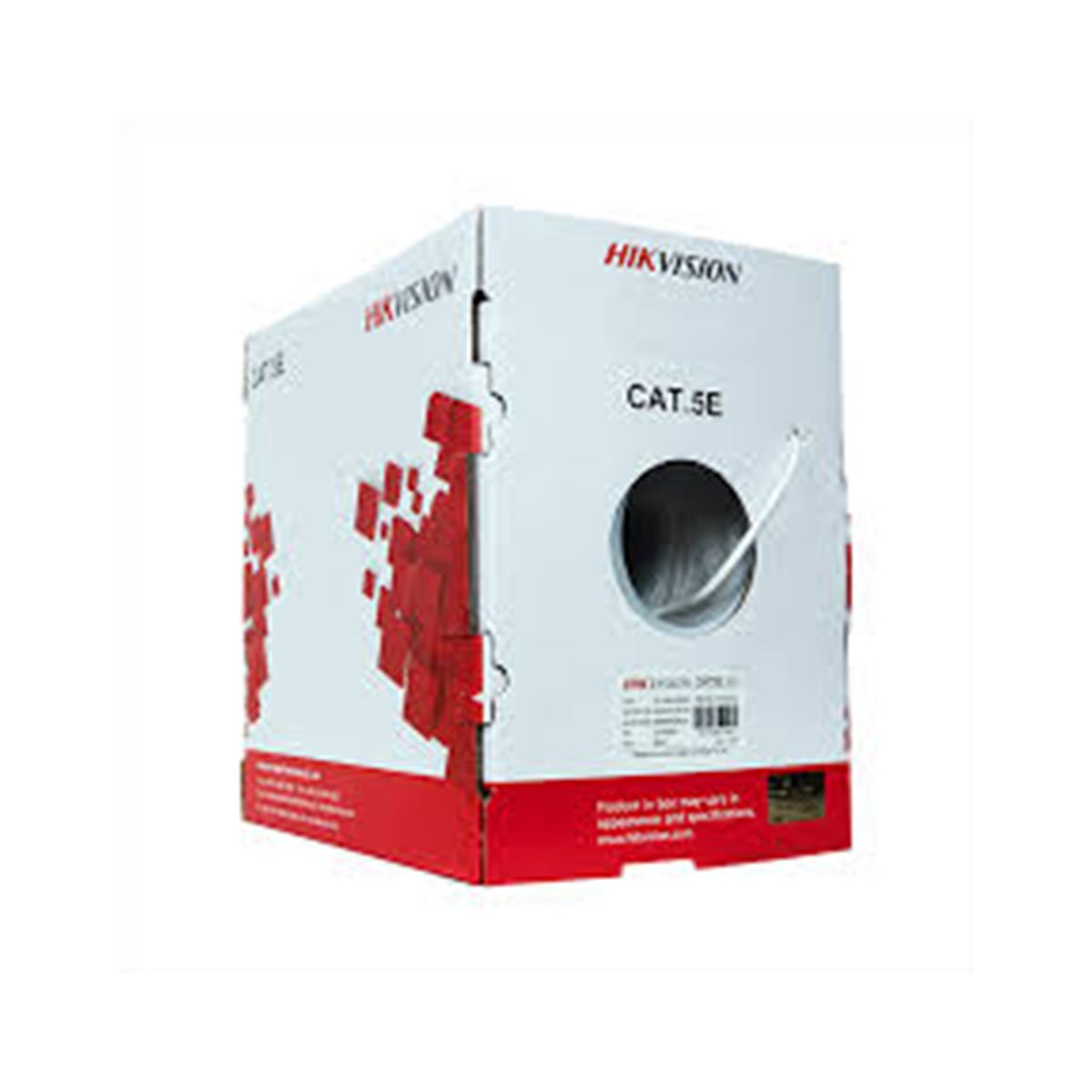 Cable UTP CAT 5e Hikvision DS-1LN5E-S