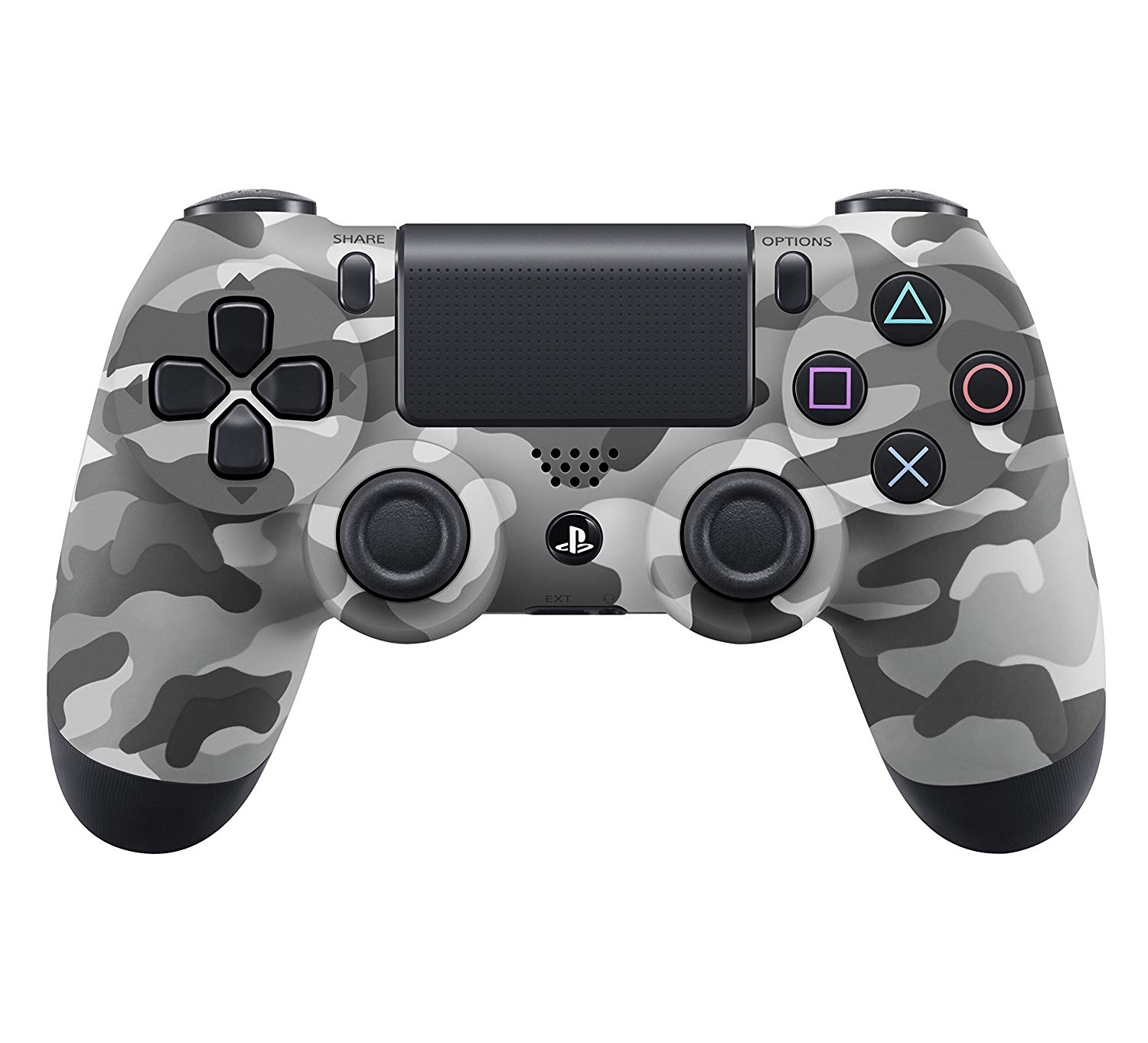 Control Sony Playstation 4 color negro camuflaje