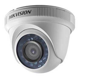Cámara Hikvision Turbo HD Tipo Domo DS-2CE56C0T-IRF