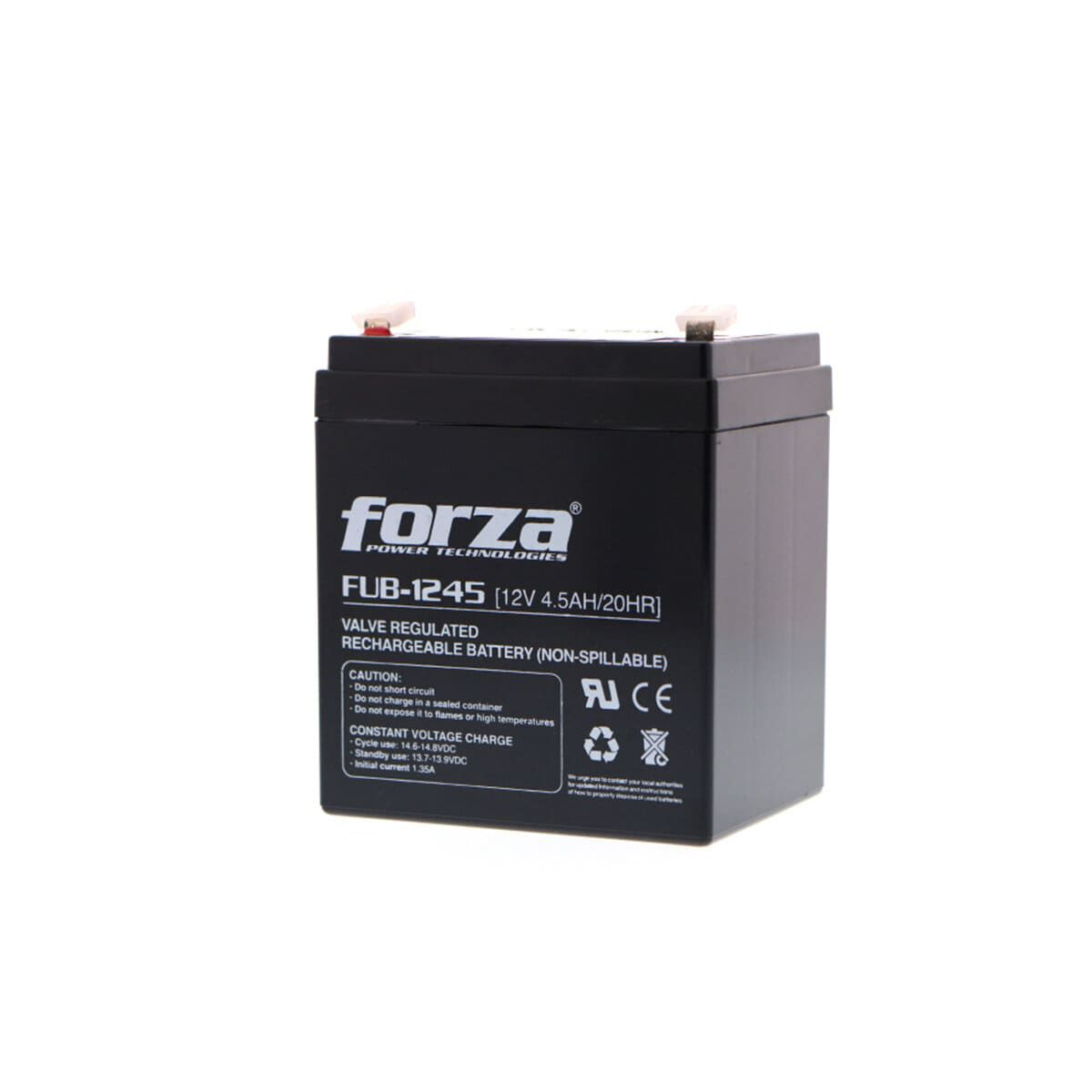 Batería 12V 4.5AH Forza FUB-1245 AGM