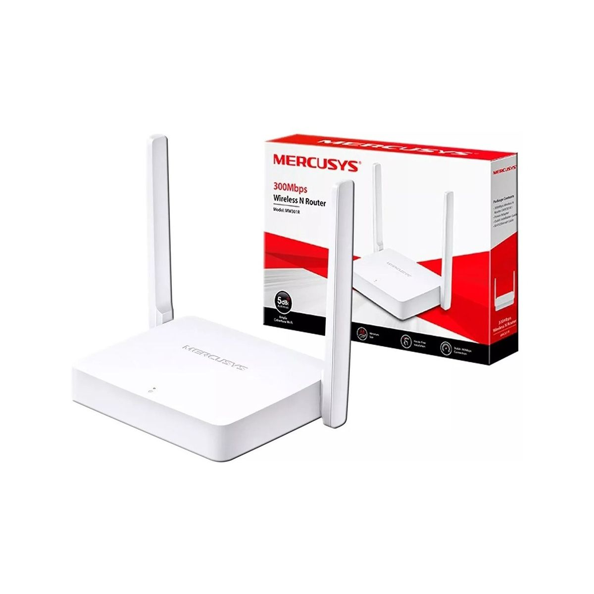 Router Mercusys MW301R Inalámbrico