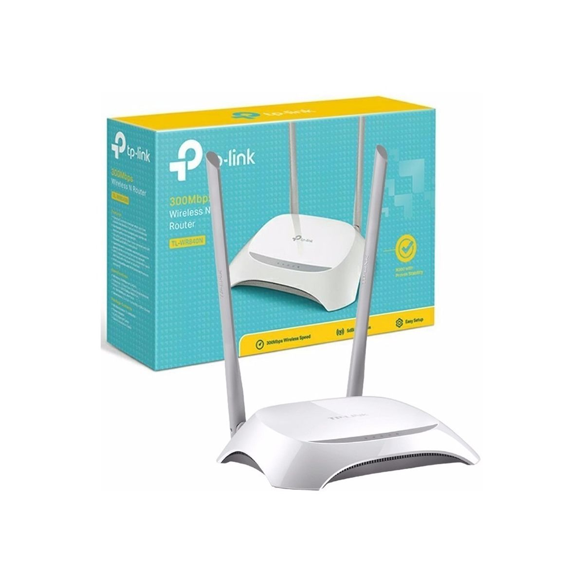 Router Inalámbrico N a 300Mbps TL-WR840N