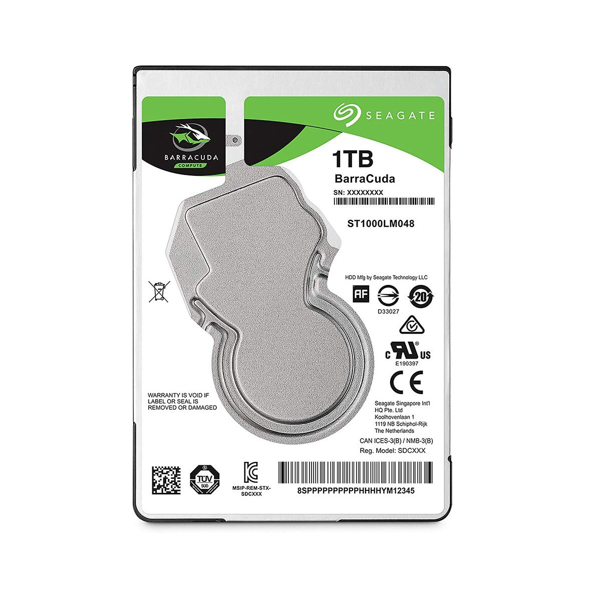 Disco Duro Seagate interno 1TB / 3.5″ para PC ST1000DM010