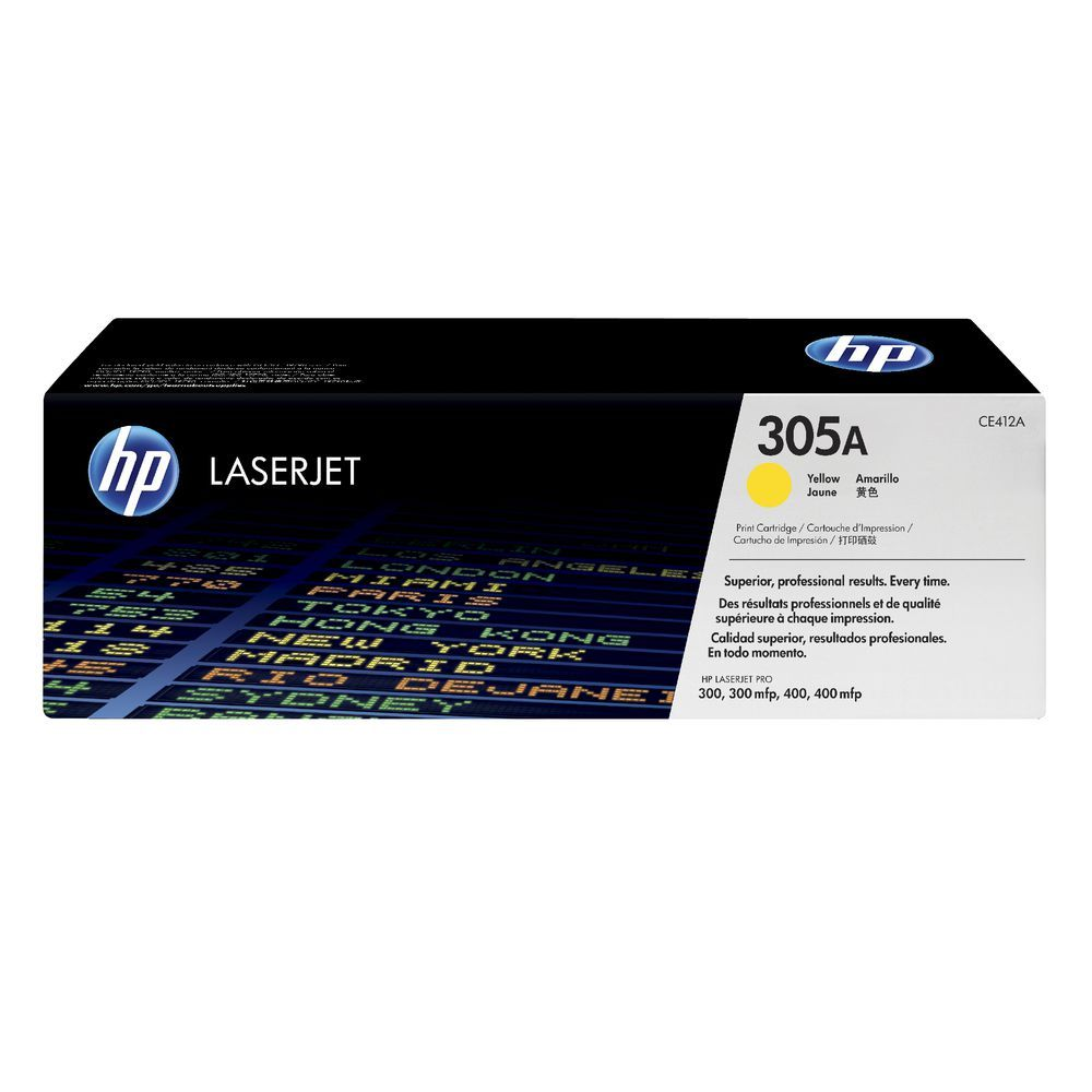 Toner HP 204A yellow laserjet