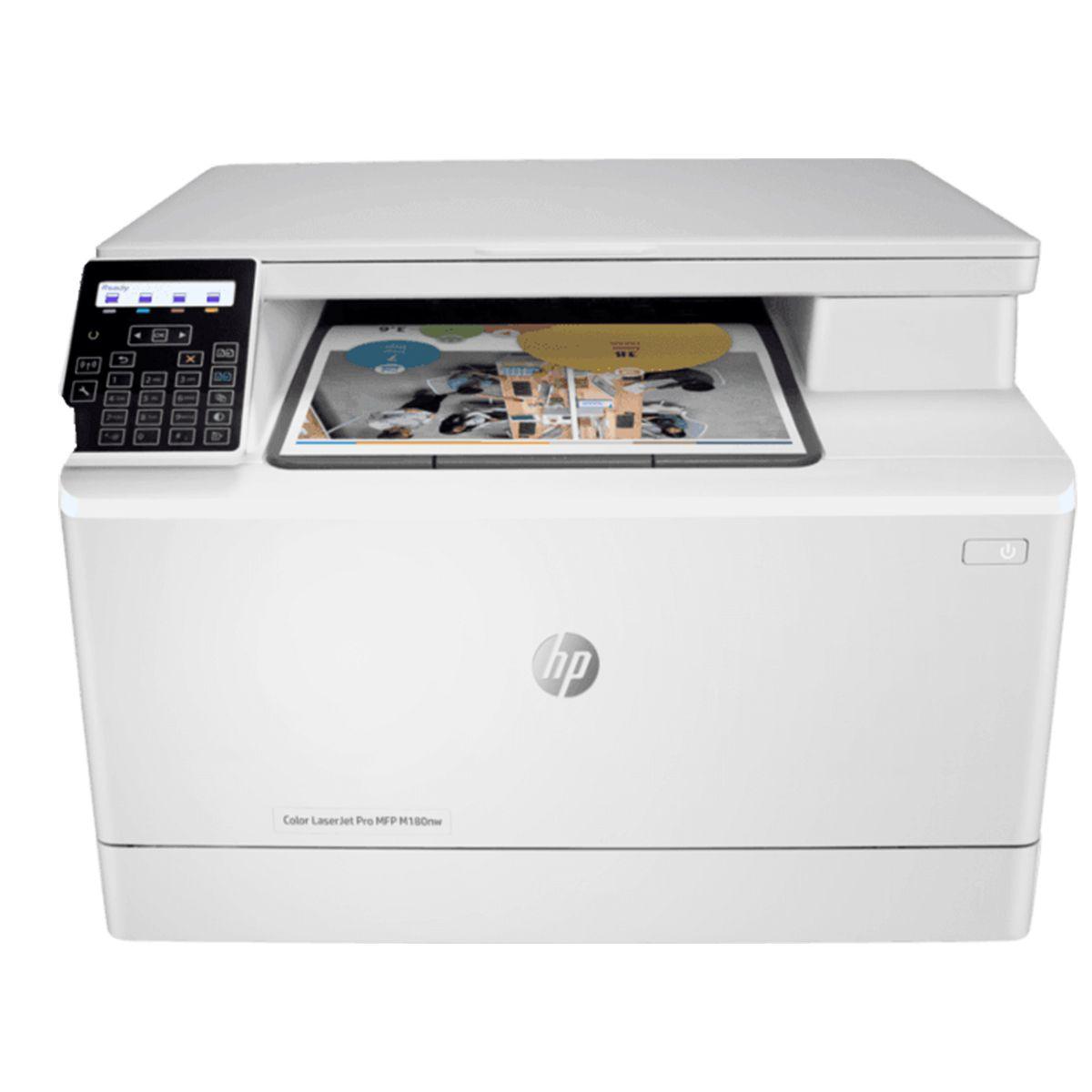Impresora HP laserjet pro multifuncional color M180NW