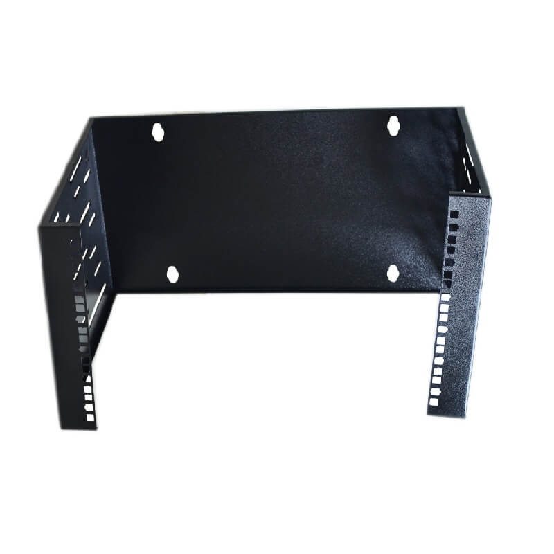 Rack de pared abierto Metalnet de 6 U