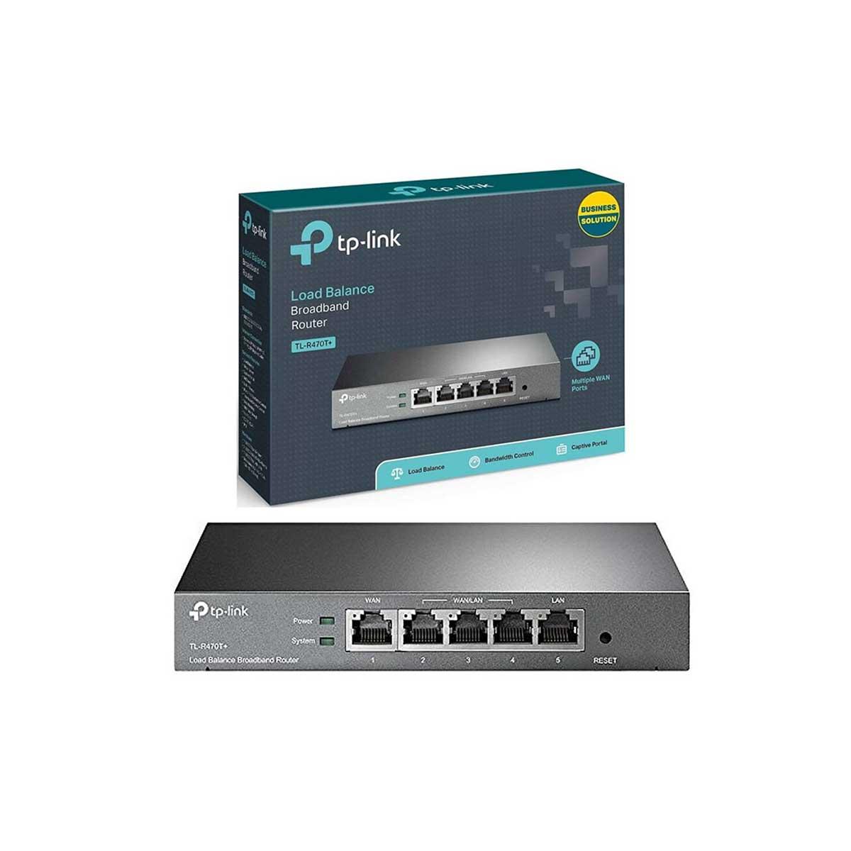 Router TP-Link TL-R470T Balanceador de Carga