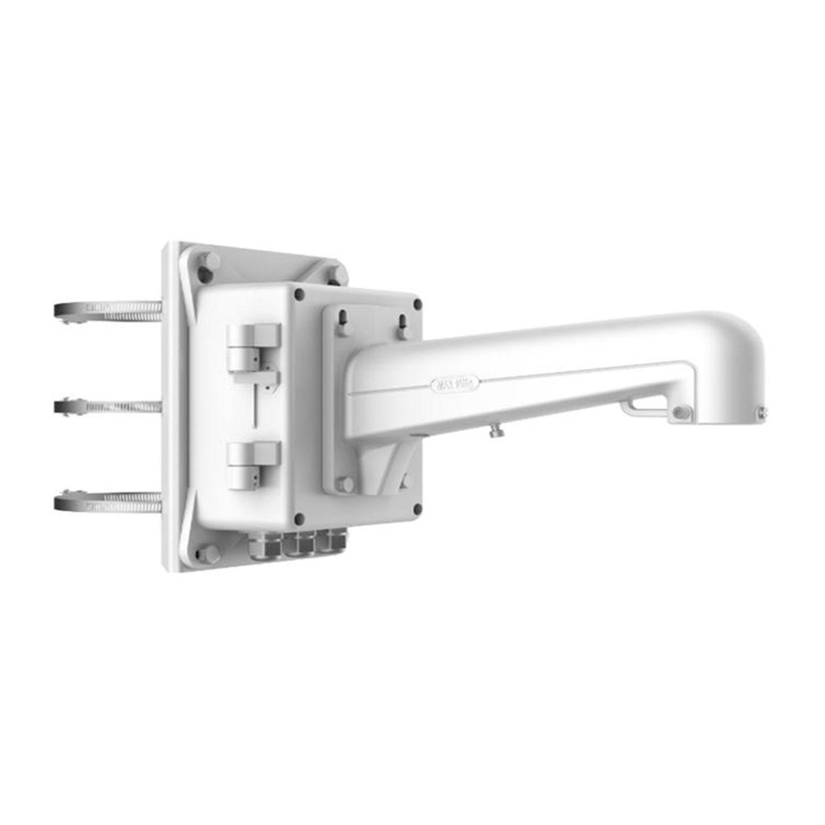 Soporte Vertical con Base para Postes y Caja de Conexiones Hikvision DS-1602ZJ-BOX-POLE