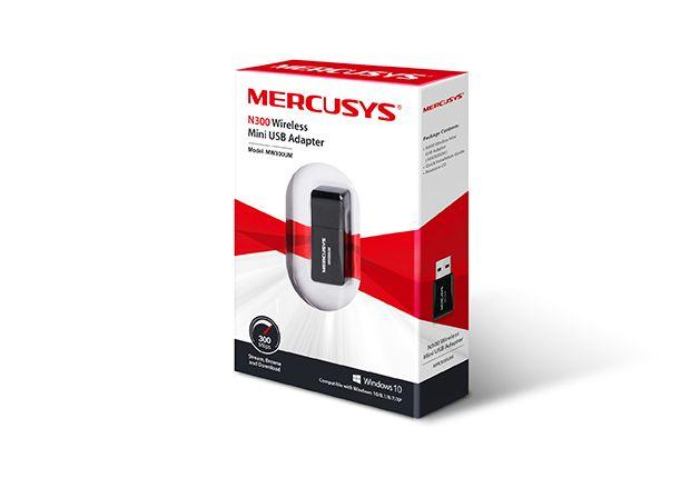 USB Mercusys Inalambrico de 300MBPS/MW300UM