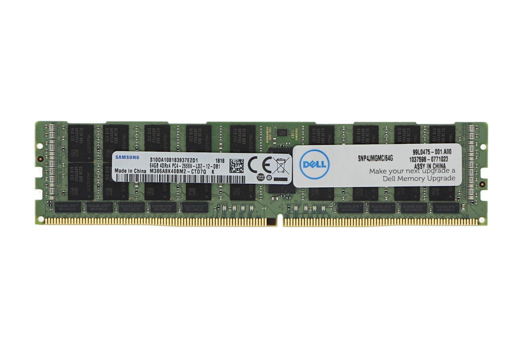 Memoria Dell 16GB – 2RX8 DDR4 RDIMM