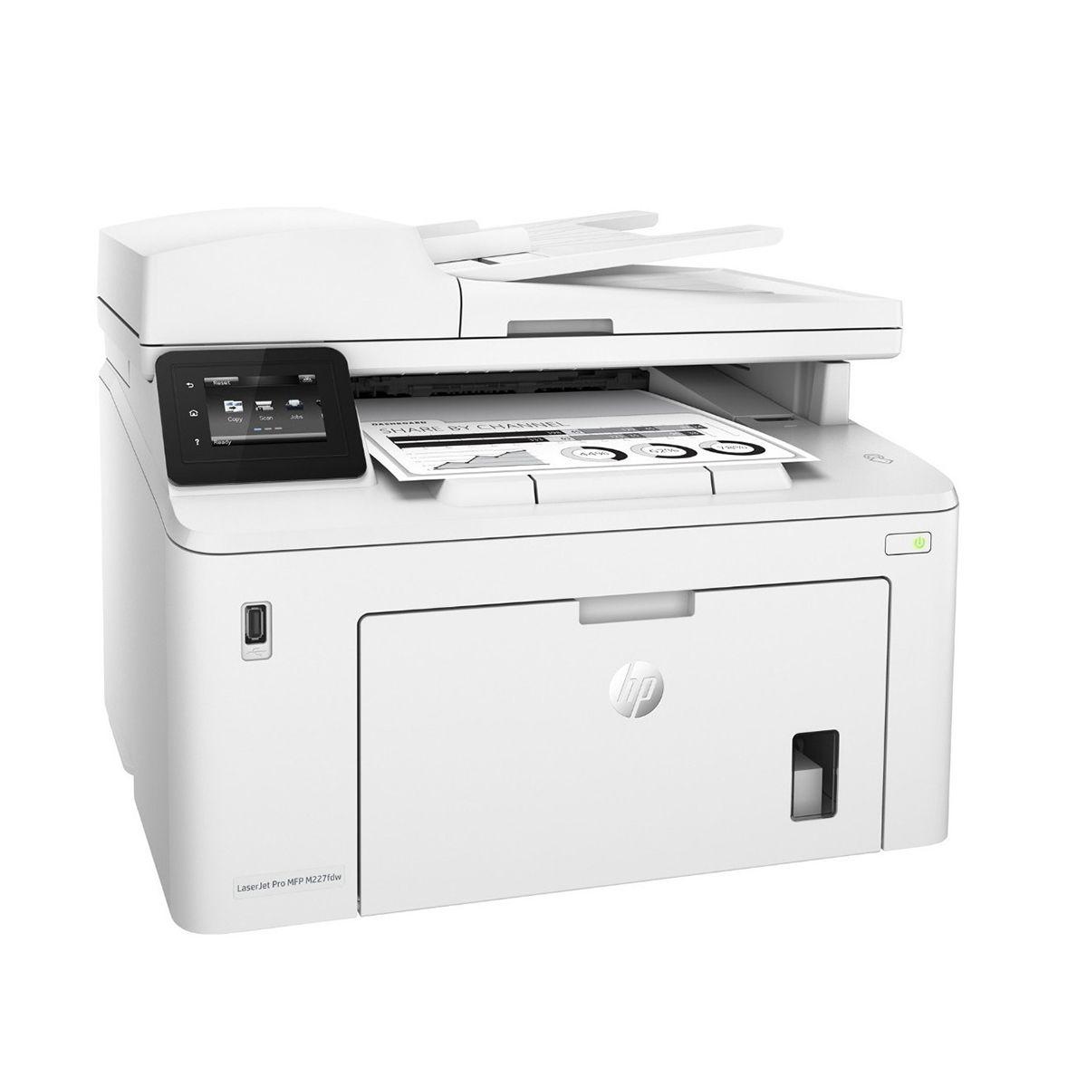 Impresora HP laserjet pro Multifuncional M227FDW/G3Q75A