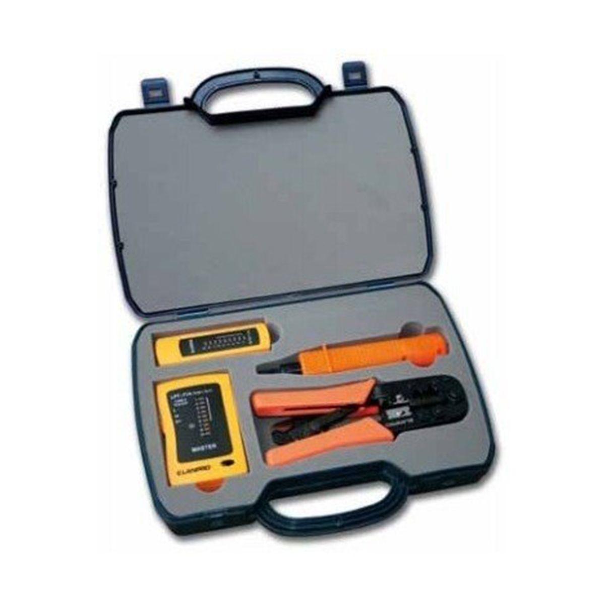 Kit Profesional  de Herramientas para Redes  LPT-KT101 LPT-KT101
