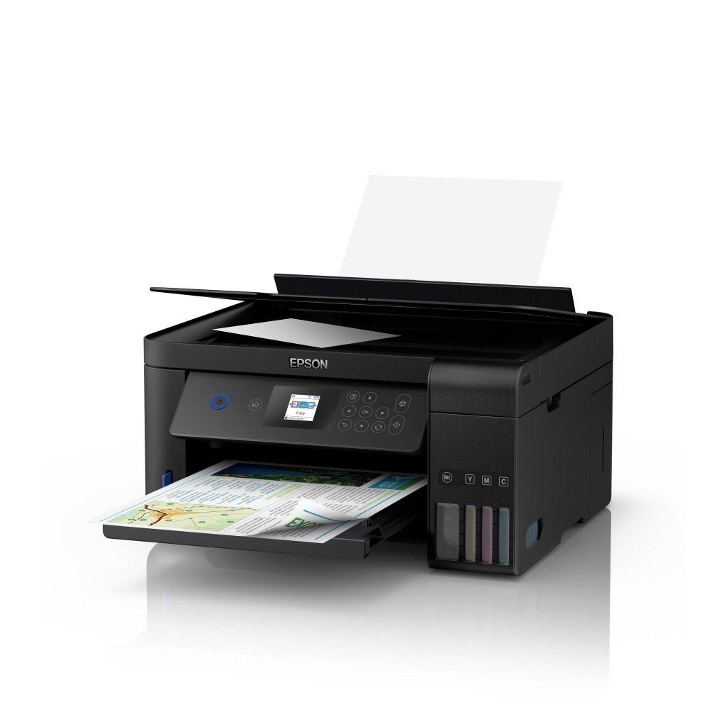 Impresora Epson multifuncional eco tank L4160