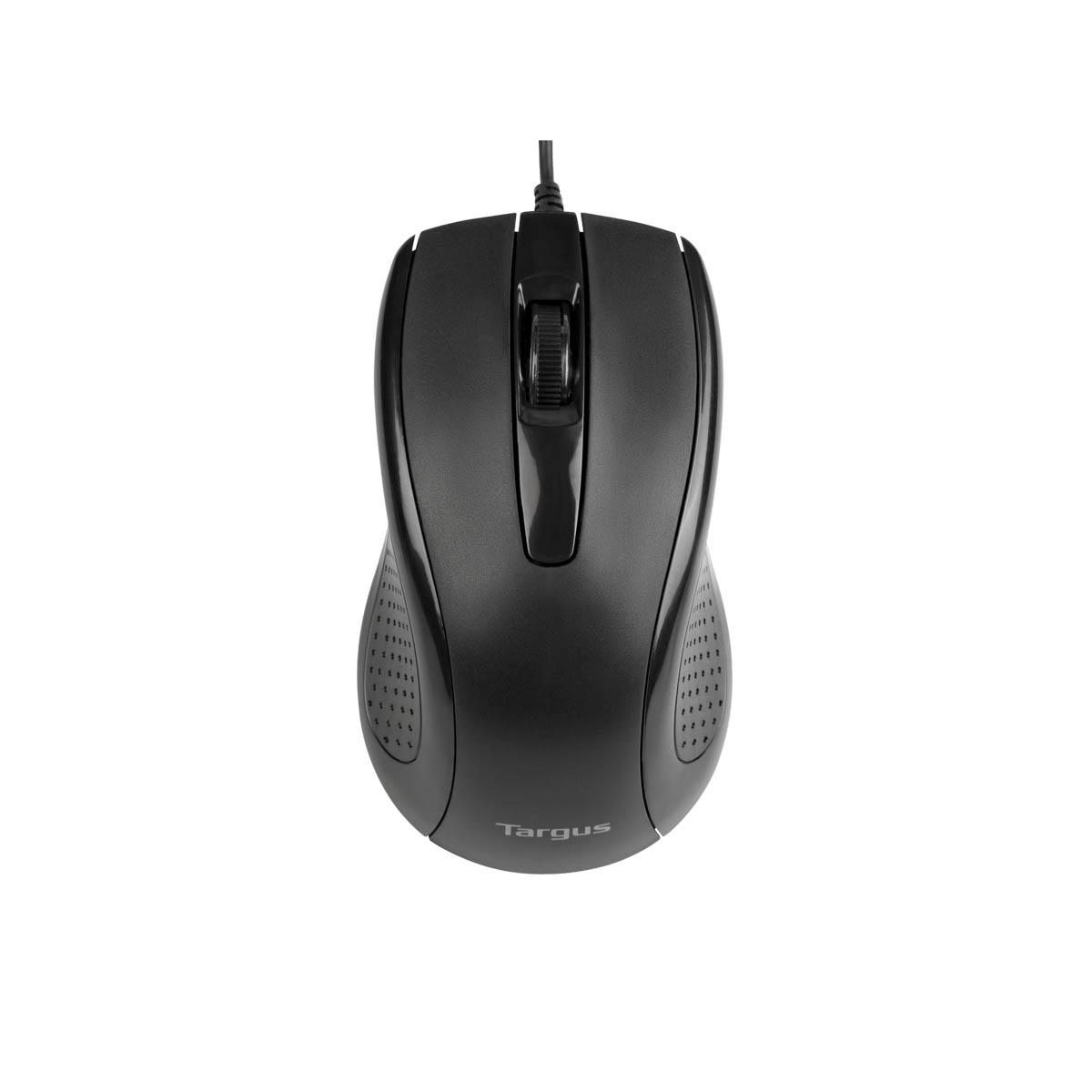 Mouse Targus AMU81USZ Óptico Alámbrico 3-Button