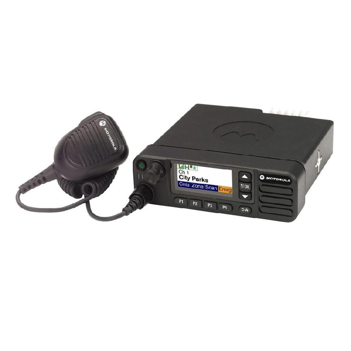 Radio Motorola DGM8500e Digital LAM28JQN9RA1AN VHF 136-174MHz de 45W