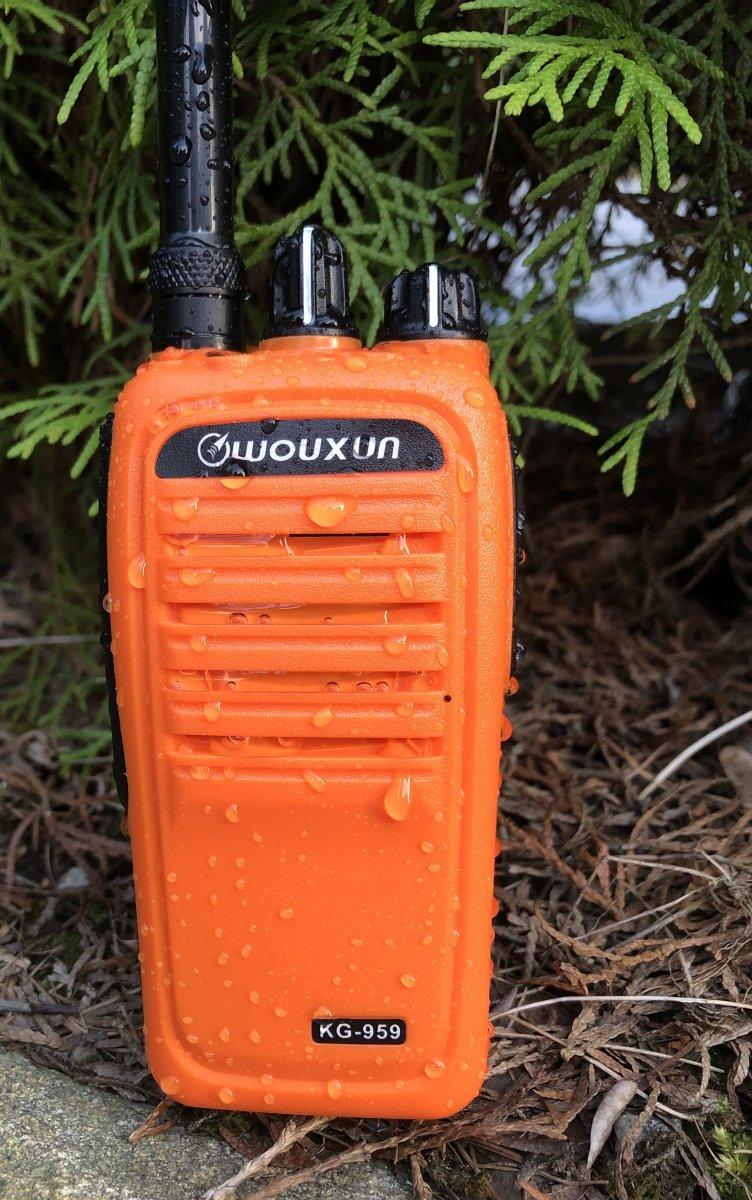 Radio Wouxun KG-959 Analogico UHF 420-520 MHz