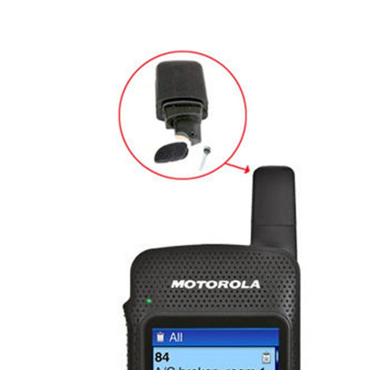 Antena Motorola para radio SL8550e UHF tipo Stubby PMAE4077